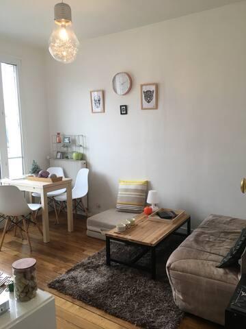 Appartement 30m2, 2 pièces, avec balcon - Paris - Apartamento