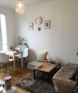 Appartement 30m2, 2 pièces, avec balcon - Paris