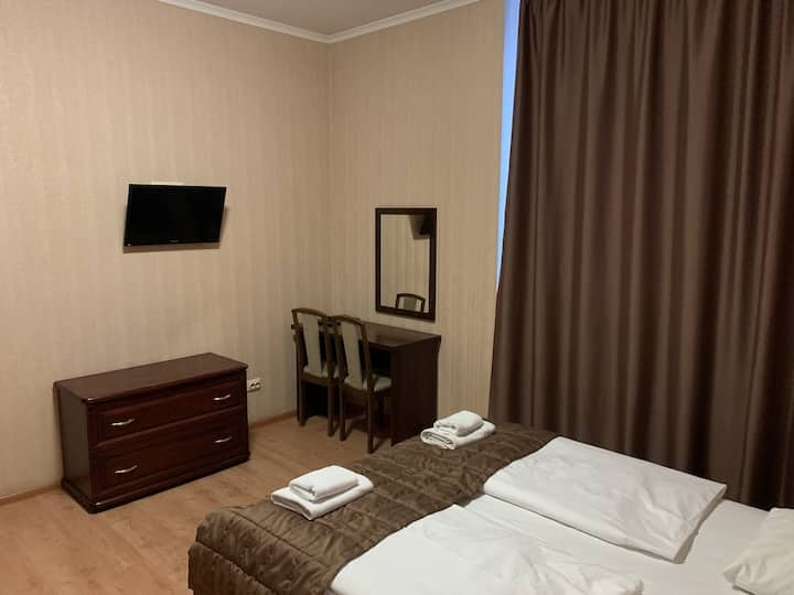 Большой, удобный номер в отеле