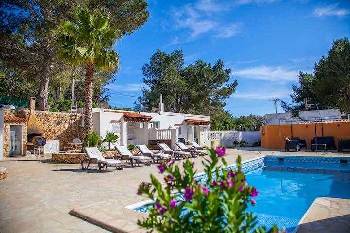 can simpatia relax y maravillosas vistas - Sant Josep de sa Talaia - Dům