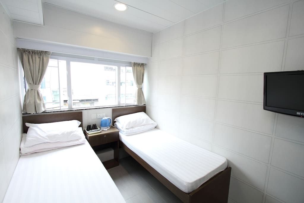 双人双床房