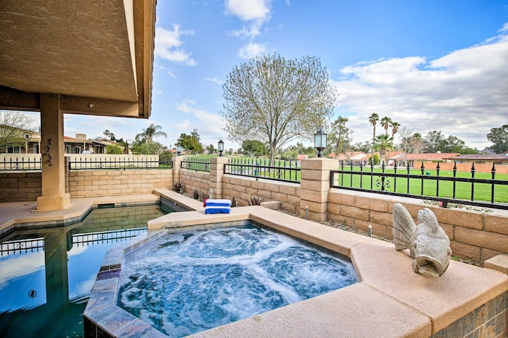 NEW! Upscale Home w/ Private Pool & Theater Room!
