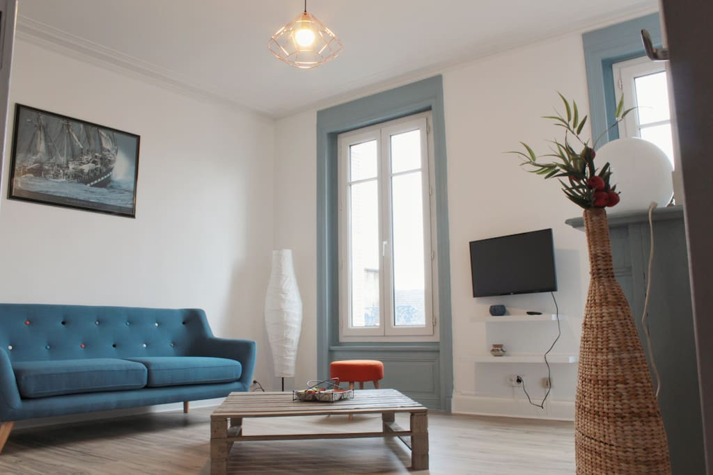 Appart cosy 4 pers centre ville wifi apartments for for Piscine equeurdreville