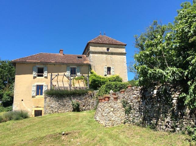 Fazende Farmhouse POOL Midi Pyrénées Le Lot France - Les Arques - Huis