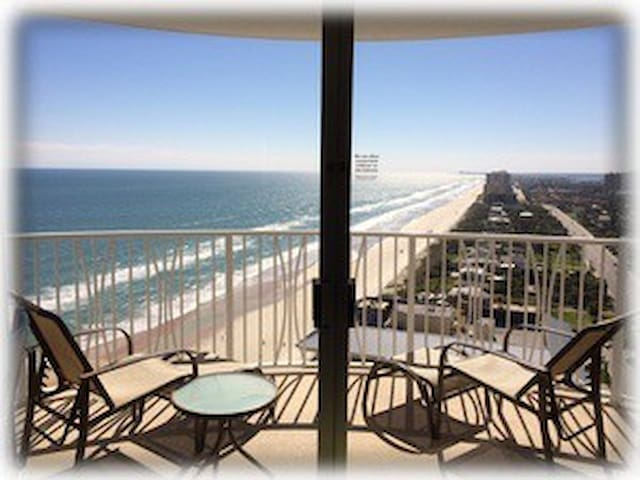 Ocean front condo,breathtaking 26se - Daytona Beach Shores - Condominium
