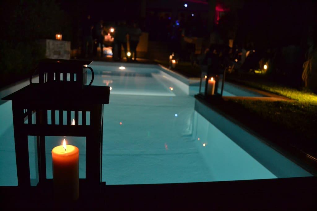 Villa le lanterne pool relax ville in affitto a for Prezzo medio della casa di tre camere da letto
