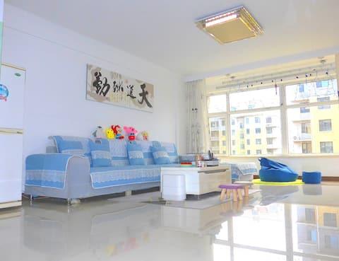 海滨家园-临海之家,笔架山最高点,105㎡海滨公寓出门见海,三室一厅宽敞明亮稀缺资源