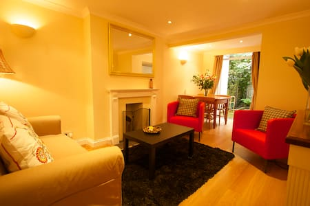 1 Bed Flat + Terrace Central London