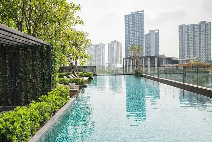 The Base Condo Near  BTS Onnut - Bangkok - Appartement