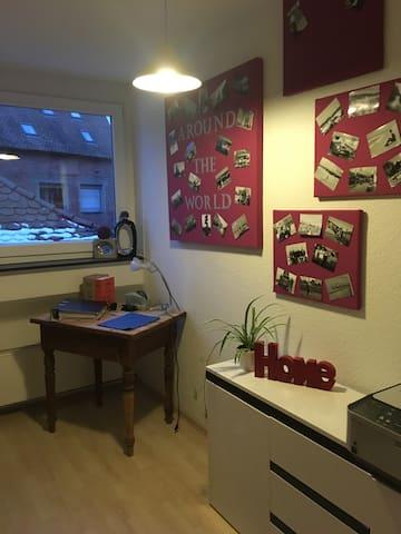 Kleines gemütliches Zimmer in zentraler Lage - Schwabach