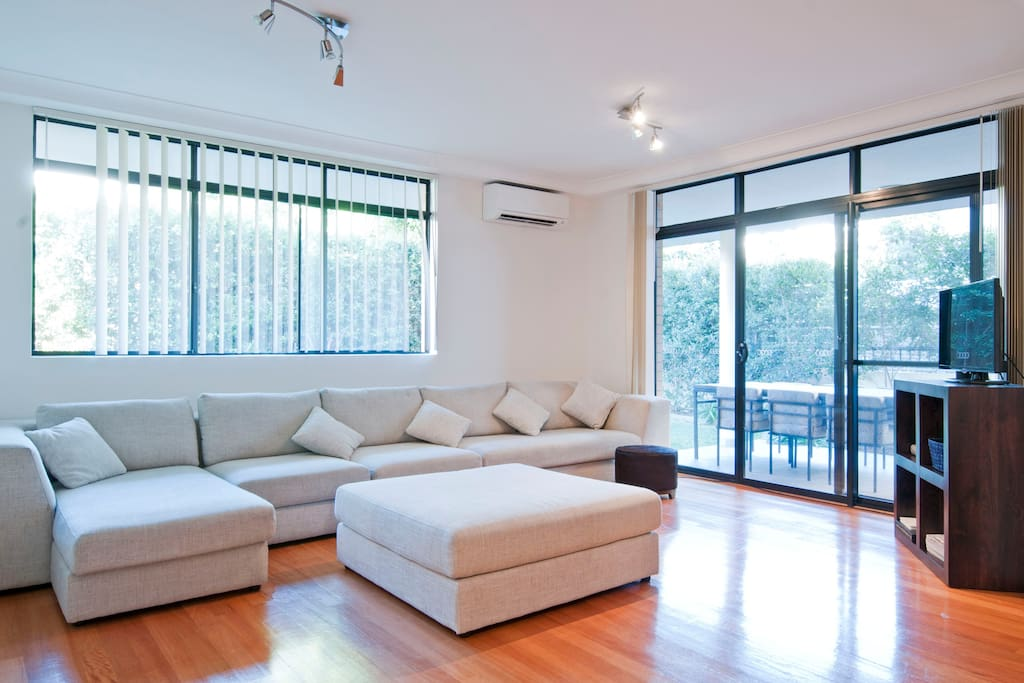 Comfy cosy living area