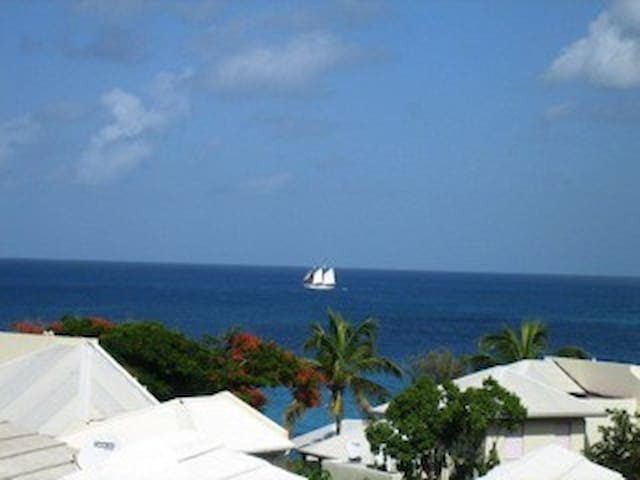 OCEAN view 2 bedrooms  ST- MARTEEN - Simpson Bay - House