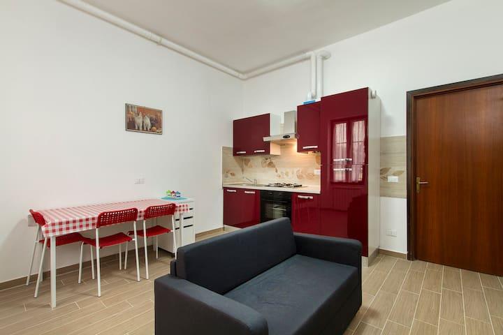 two-room apartment near Milan exhib - Vanzago - Apartament