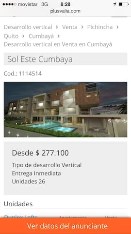 Luxury Cumbaya Loft - Quito - Apartment