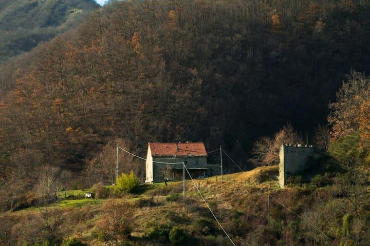 La casa e terreno annesso