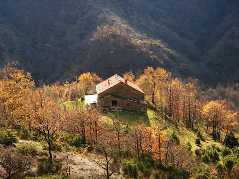 Ancient estate on Apennine Mountains, Romagna
