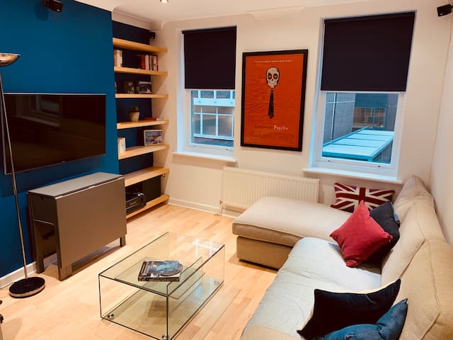Modern London flat with great transport links