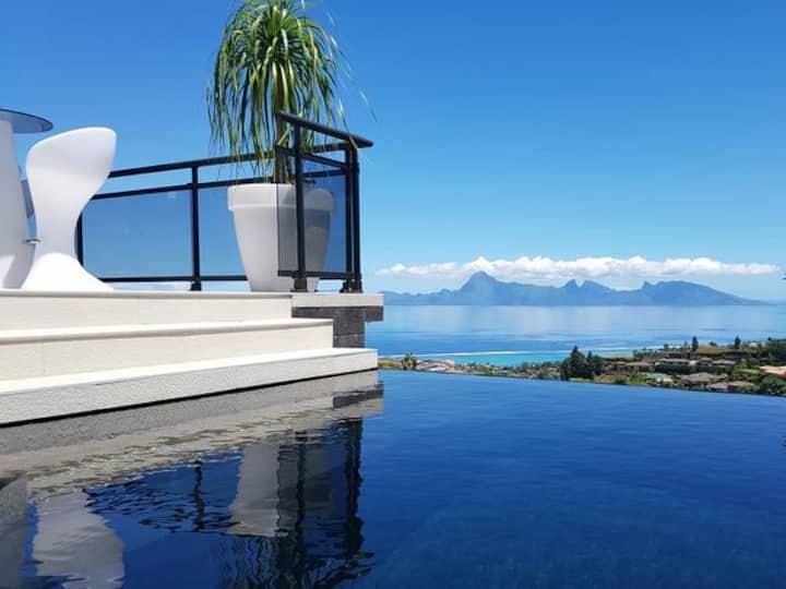 Magnifique Villa avec vue sur Moorea