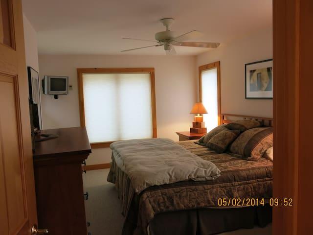Master Bedroom w pillow top high end mattress
