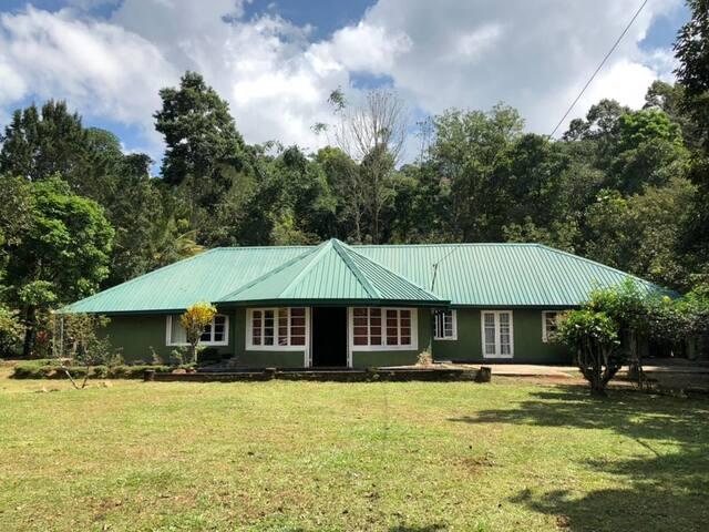 Donside Tea estate planter's bungalow