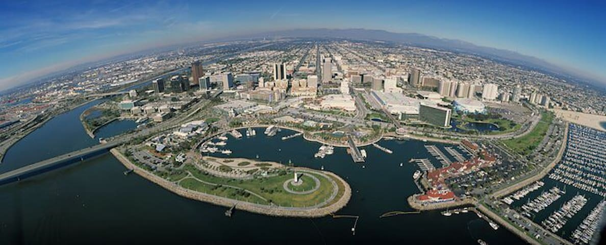 Downtown LBC Walk> Conv Cntr-Pier - Long Beach - Appartement en résidence