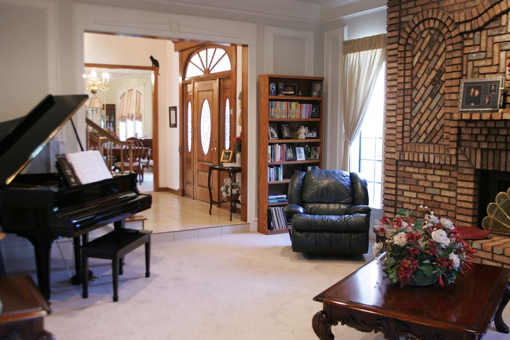 Formal living area offers a quiet place to relax.