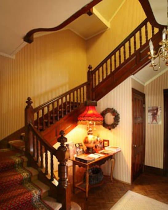 Fantastic stairway!