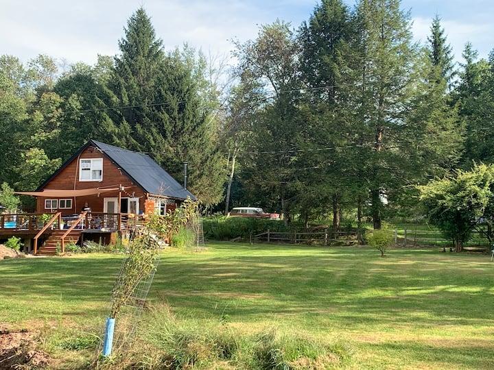 Upstate NY, Bethel Woods, Swan Lake, Ferndale