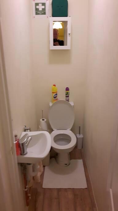Extra toilet...