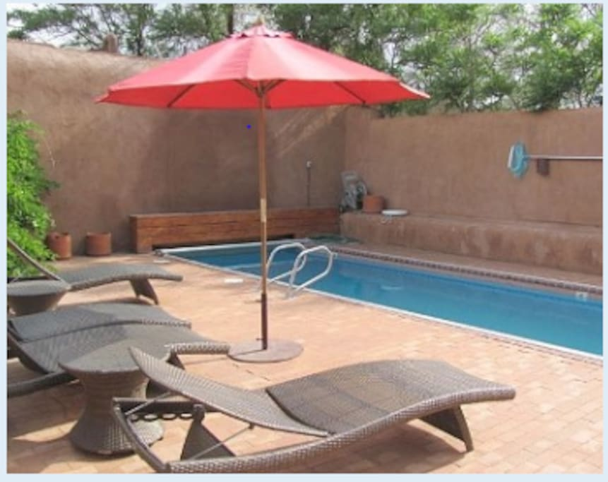 Lap pool and deck available May through October.