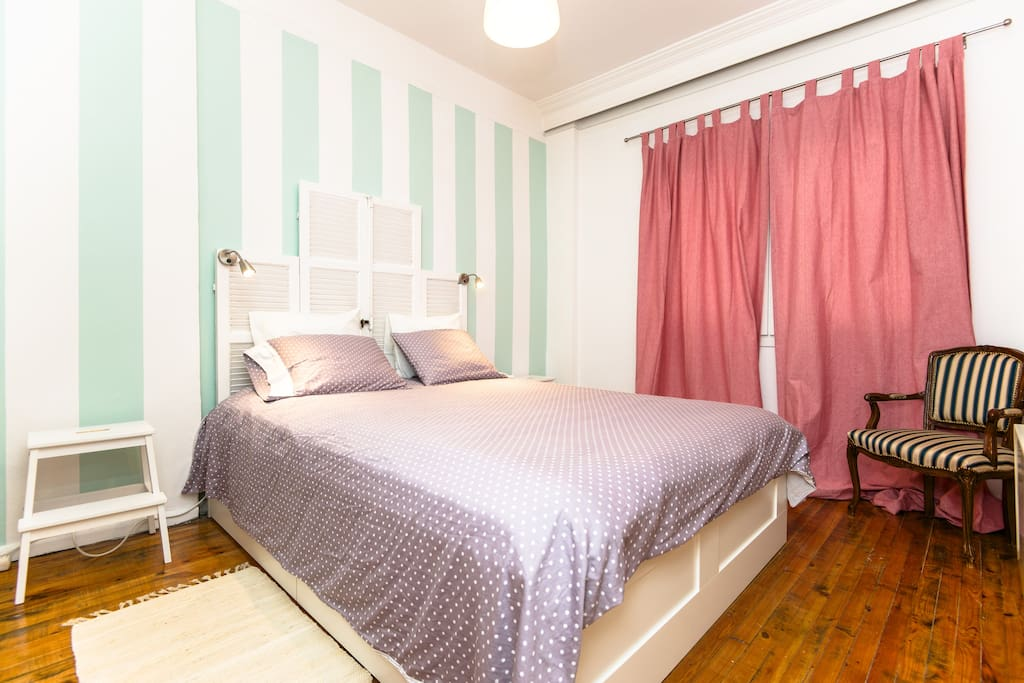 This is your double bedroom with brand new bed and mattress