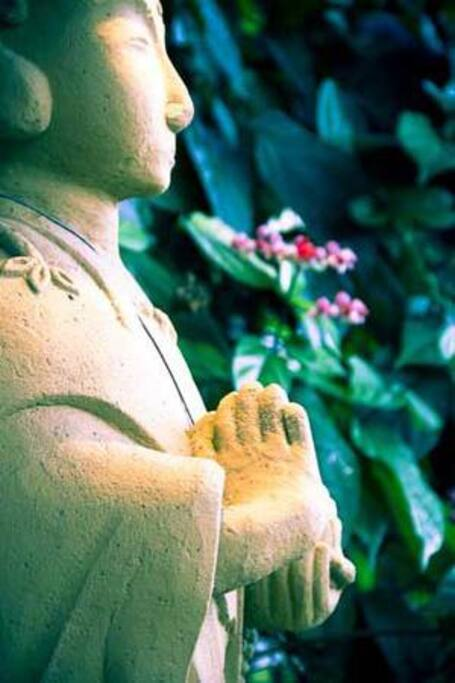 The jizo; guardian of travellers, women and children