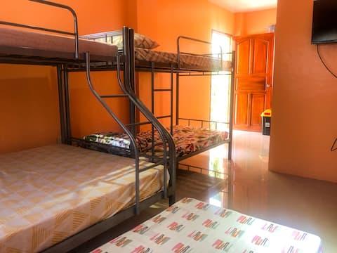 Villa 10( Room with TV, Aircon & Cr)