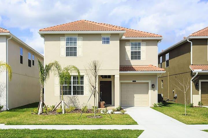 Paradise Palms 6BR House+pool PP116