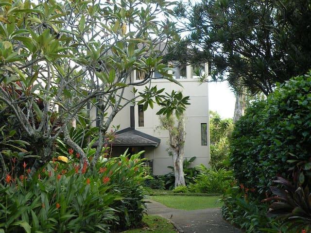 Kauai Ocean View 3 Story Tiki Tower - Princeville - Apartment