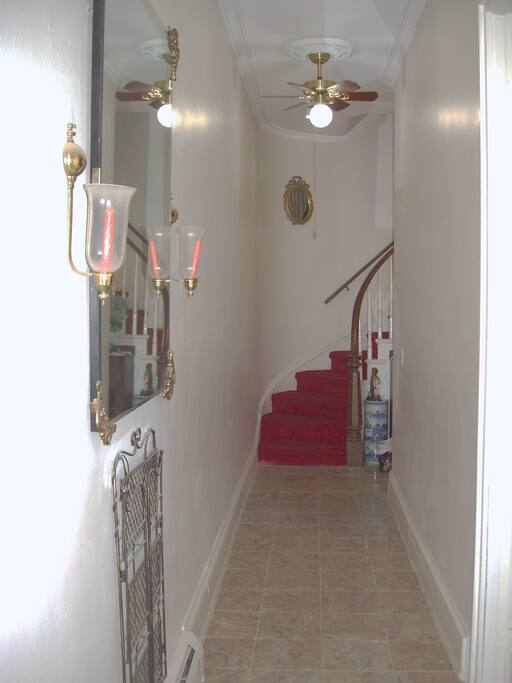 So, are you ready to climb the elegant winding staircase and see the 4th floor apartment?