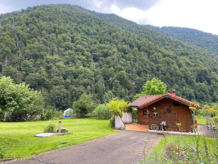 Ferienhütte am Fuß des Feuerkogels