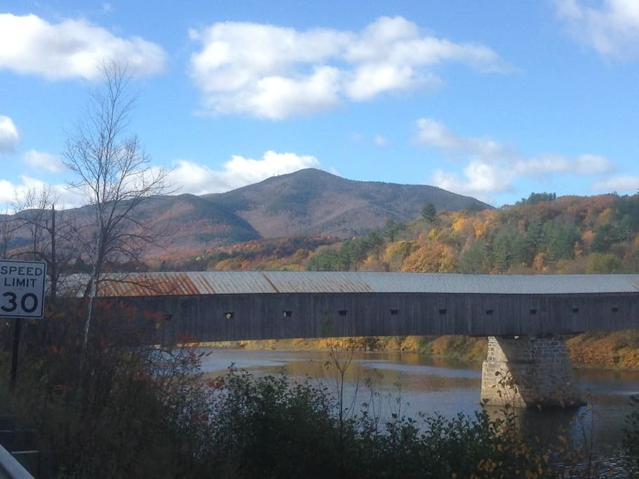 Located in Cornish in the heart of the NH/VT Upper Valley, with its covered bridges, CT River and Mt. Ascutney