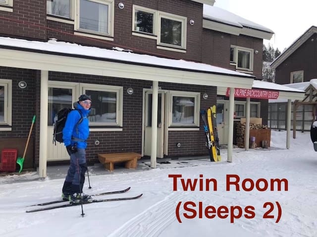 Alpine Backcountry Lodge Tomamu (Twin Room C)