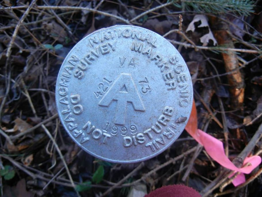 We share a boundary with the Appalachian National Scenic Trail boundary!