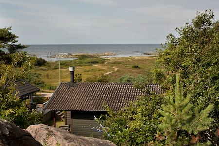 House with a wonderful ocean view - Steninge