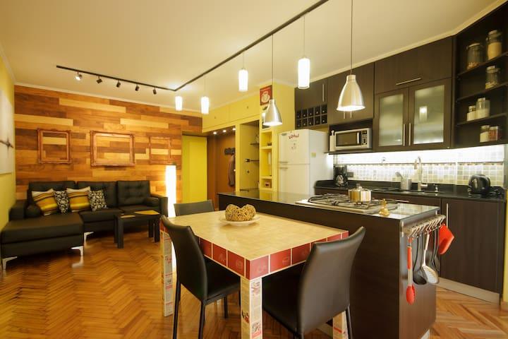 1 BR Apartment in Recoleta