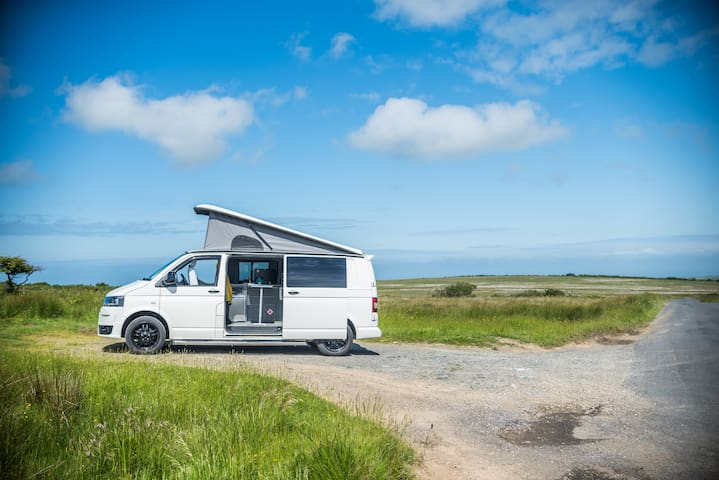 Fully Loaded VW T5 Campervan (called Florence)