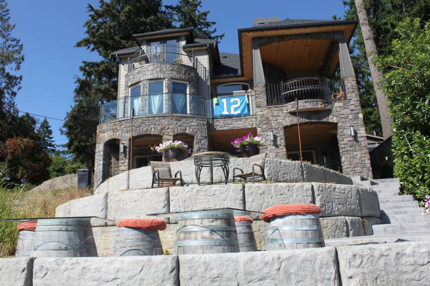 Truly Unique Castle Style Villa with Amazing Views - Balcony Suite with Partial Lake Views!