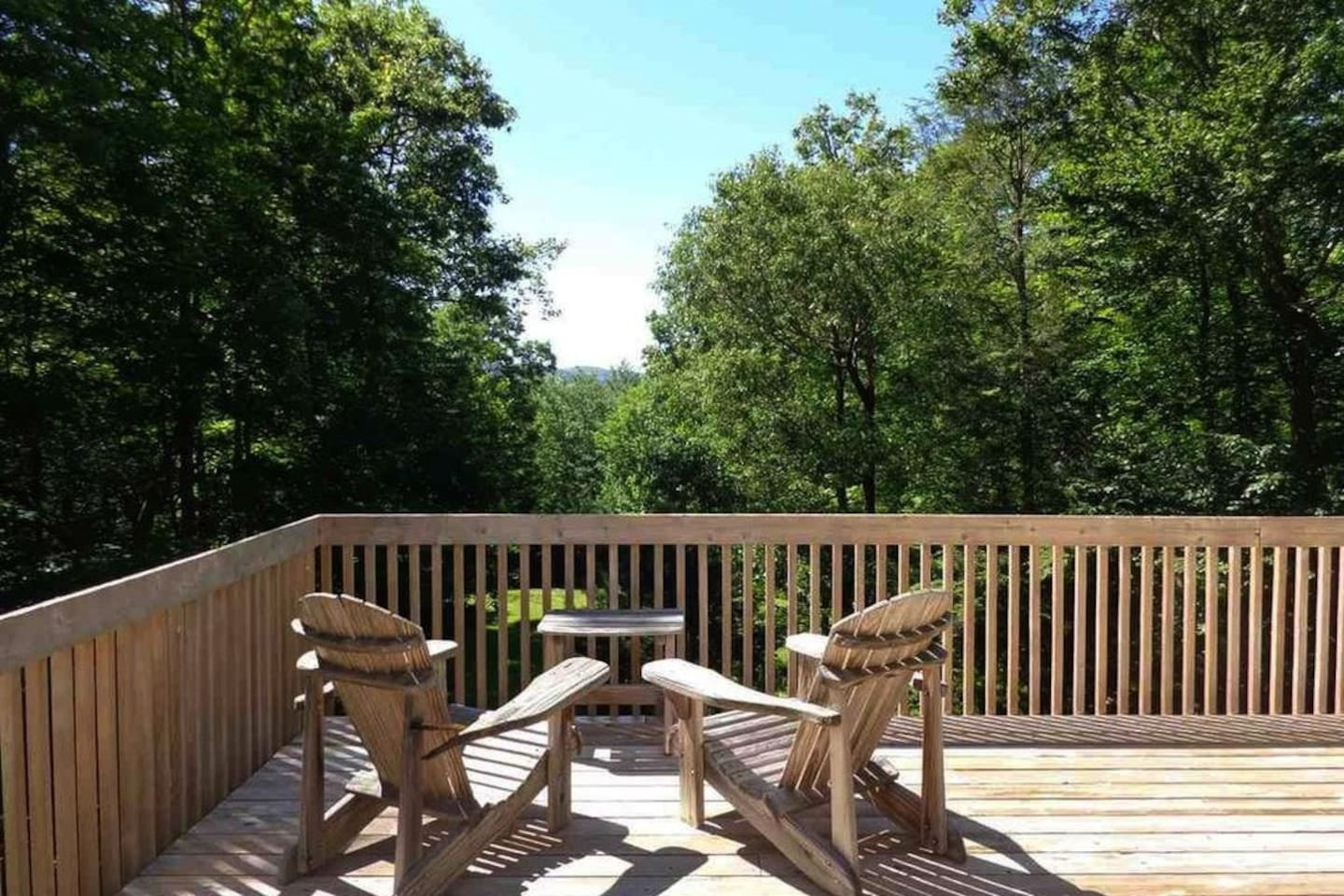 Relax on our sun-drenched rear deck