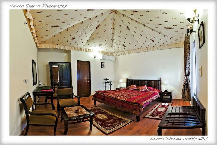 Luxury Cottage Tent at a Resort in Pushkar