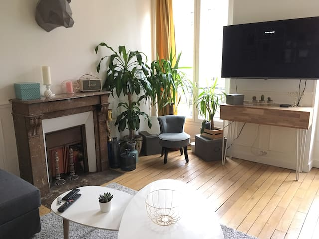 Charming 1 bedroom in the heart of Paris - Paris - Daire
