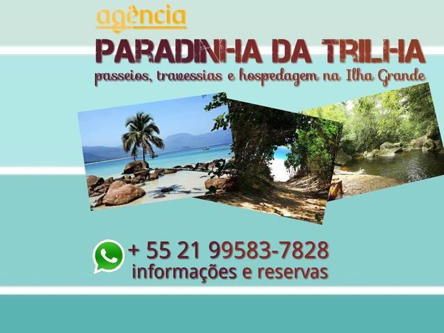 Camping Paradinha da Trilha - Palmas-Ilha Grande 1