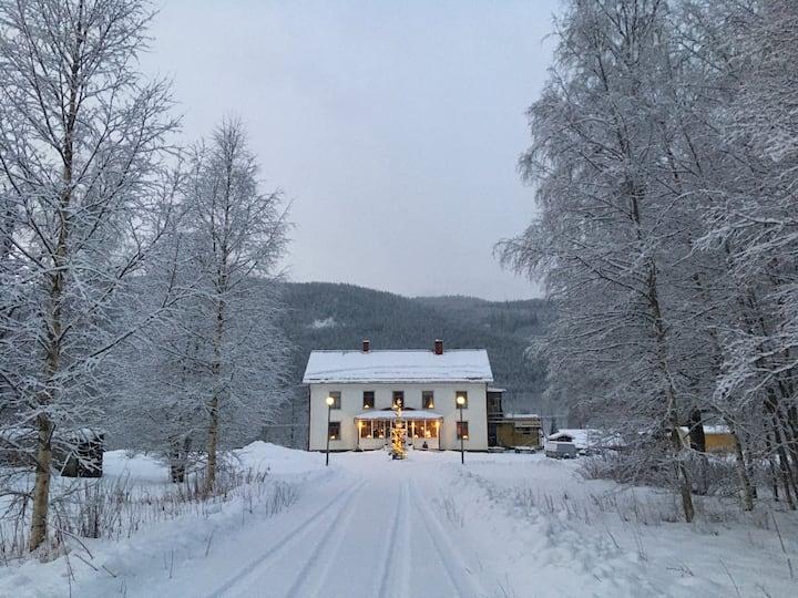 Lägenhet i vacker Prästgård nära Branäs