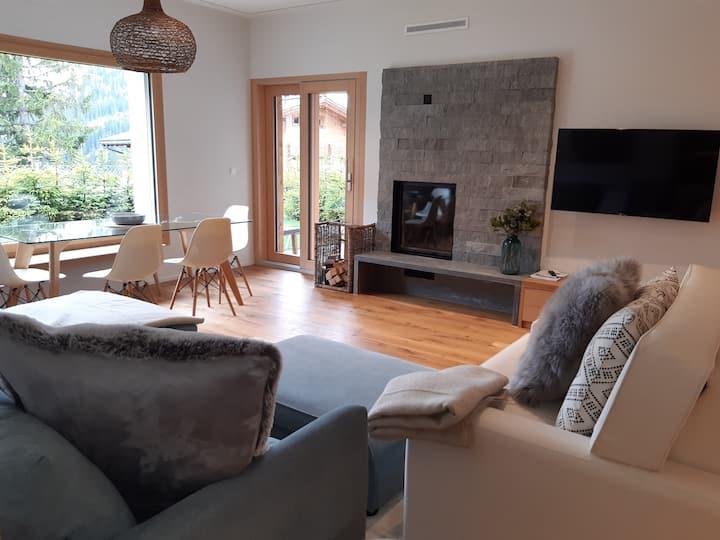 Gemütliche 3-Zimmer Wohnung mit Kamin